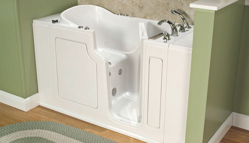 safe step walk in tub cost and pricing options for seniors and those with disabilities - Step In Bathtub